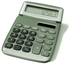 Decoration - Photo of a calculator