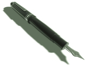 Decoration - Photo of a fountain pen
